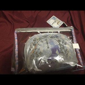 NWT Cinderella make up bag set